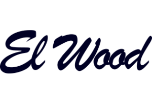 EL Wood Logo in black